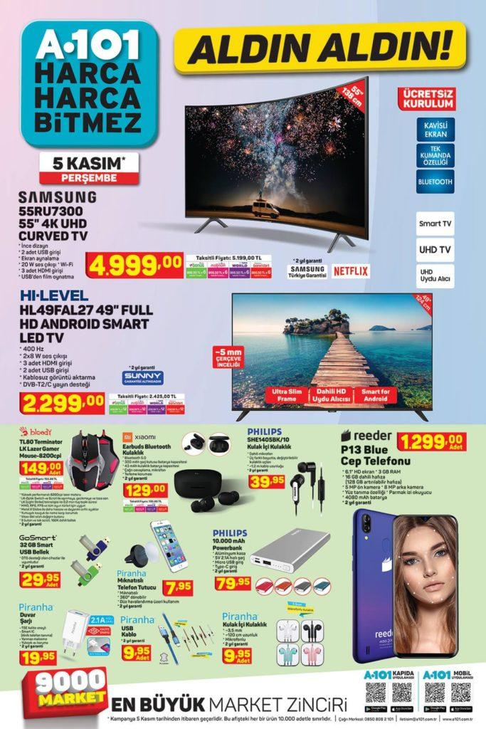 A101 Aktüel Aldın Aldın 05 Kasım - 12 Kasım Sayfa:1
