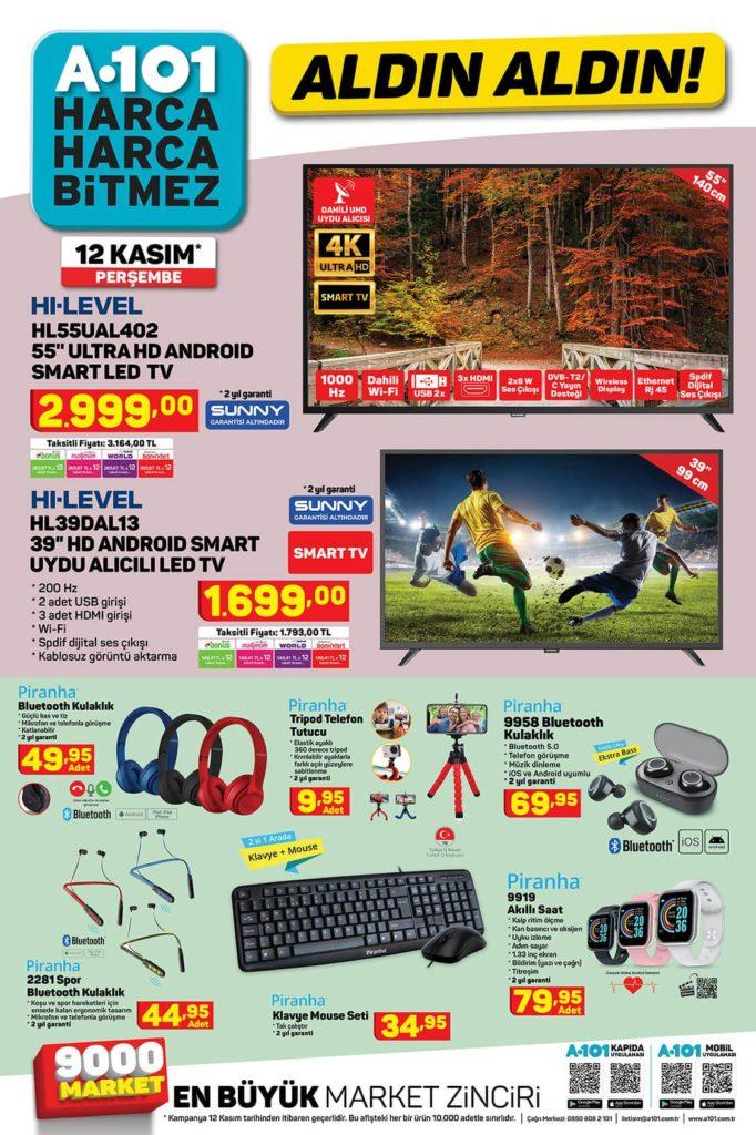 A101 Aktüel Aldın Aldın 12 Kasım - 19 Kasım Sayfa:1